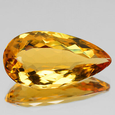4.11 Cts Excellent Top Quality Golden Yellow Color Natural Beryl Gemstone