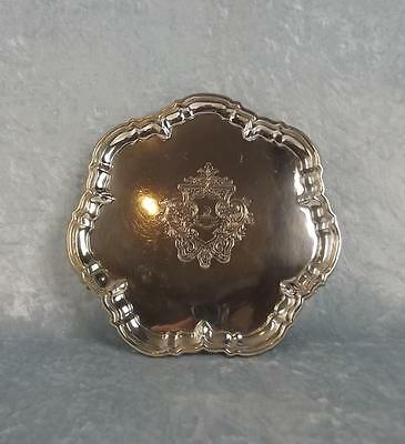 London 1900 Small Silver Salver