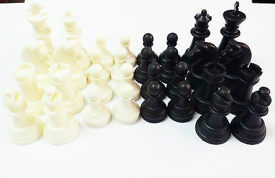 PLASTIC GAMES CHESS SET COMPLETE 32 PIECES birthday party toy game