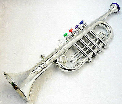 MUSIC KIDS TRUMPET PLASTIC TOYS learn to play little musician sound TOY