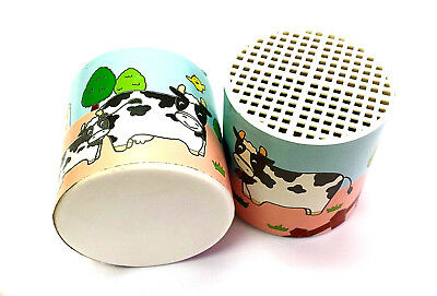 Deluxe Cow Moo Sound Voice Noise Maker  party Toy Novelty Can Clown Gag Jokes