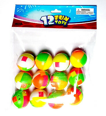 12 Puzzle Balls Bulk Vending Toys For Capsule Or Party Favors Pinata Gift