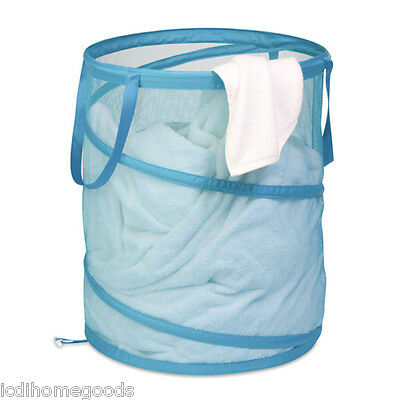 Blue Large Mesh Pop-Up -Hamper #HMP-02824