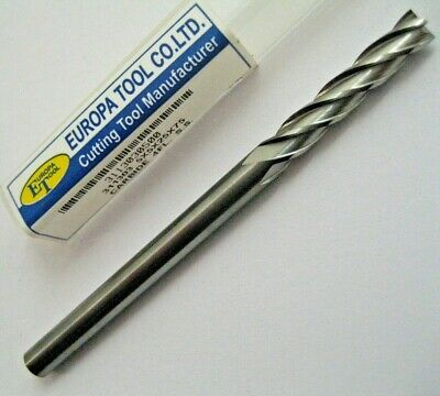 5mm SOLID CARBIDE 4 FLUTED LONG SERIES END MILL EUROPA TOOL 3113030500  #42