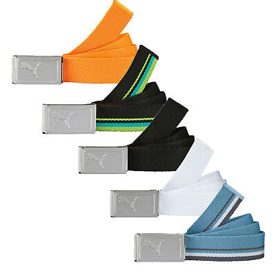 New Puma Golf 2016 Works Web Belt - One Size Fits Most - Pick Color!