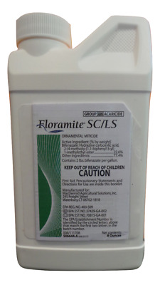 Floramite SC 8oz Spider Mite Control 22.6% Bifenazate Factory Packaging