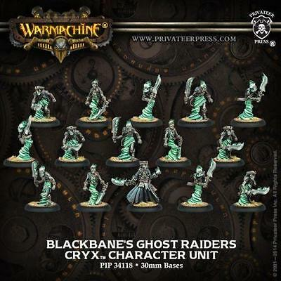 Privateer Press Warmachine Cryx Blackbane's Ghost Raiders Unit of 15 PIP 34118