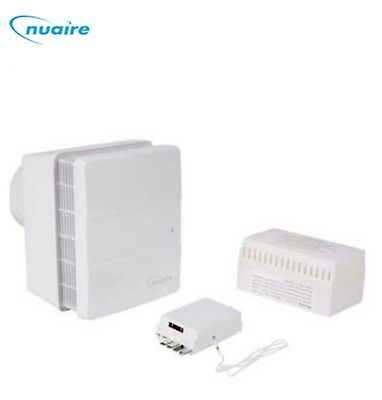 Nuaire Genie-X12 12V Extractor Fan Continuous Ventilation Kitchen Bathroom