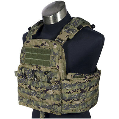 Flyye Field Compact Plate Carrier Modular Military Armour Holder Vest Aor2 Camo
