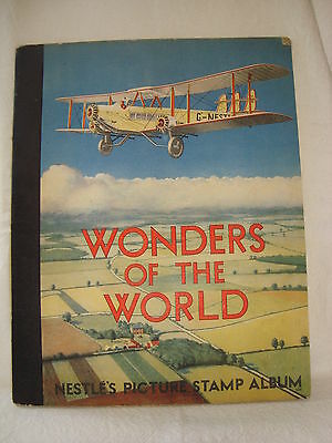 Nestle's Wonders of the World Picture Stamp Album