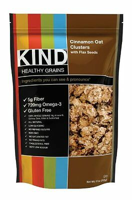KIND Healthy Grains Clusters, Cinnamon Oat with Flax Seeds, 11-Ounce Bags Pack 3