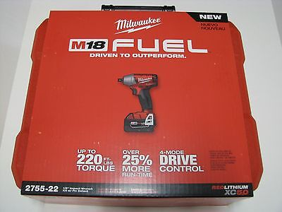 *Milwaukee Tool case only for Impact wrench model 2755-20 ; 2755-22