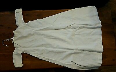 Antique Lace Collar & Cuffs White Christening Gown