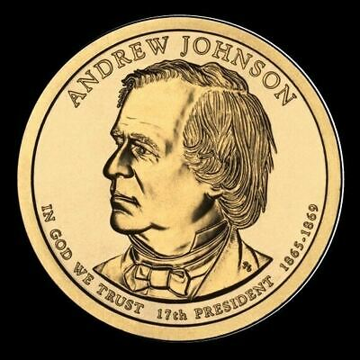 "2011 P Andrew Johnson Presidential Dollar ""Brilliant Uncirculated"" Coin"