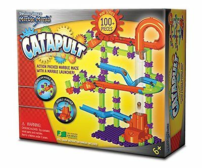 The Learning Journey Techno Gears Marble Mania Catapult Building Kit 100-Piece,