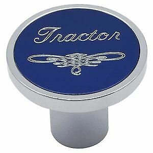 Universal Blue Tractor Air Valve Control Knob Threaded