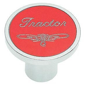 Universal Red Tractor Air Valve Control Knob Threaded