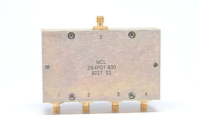 MINI-CIRCUITS 15542 ZFSC-4375 Power Splitter Combines 4 Way-0° 75 50