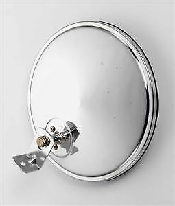 """8"""" Offset Chrome Convex Truck Mirror for Peterbilt and Freightliner"""