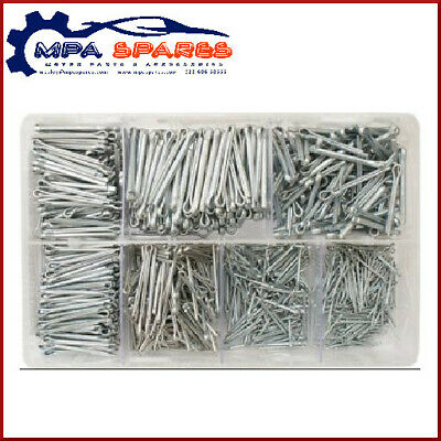 1000 Assorted Split Pins 6/16 - 5/32 Bzp - Cotter Pins