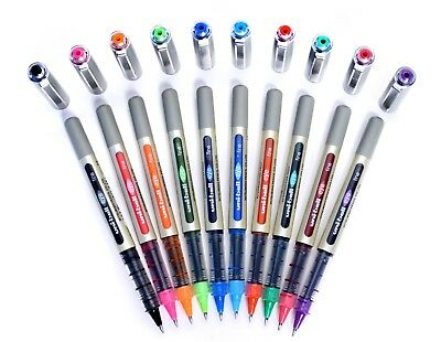 UNI BALL UB-157 EYE FINE ROLLERBALL PEN 0.7mm Choose Colours ''Made in Japan''