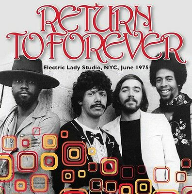 Return to Forever - Electric Lady Studio, NYC, June, 1975