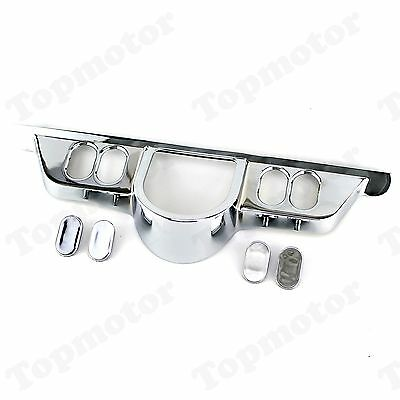 Chrome Switch Panel Accent Cover Trim For Harley Touring Tri Glide FLH 1996-2013