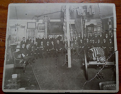 National Union - Gar New Jersey - Meeting Room Photograph - As Is Poor Condition