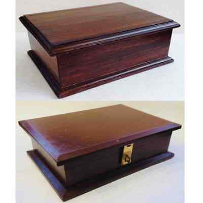 Memorial Wooden Pet Cremation Ashes Urn Ash Casket Coffin Box Case MDF Wood