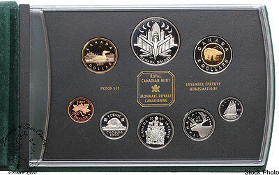Canada 2000 Discovery Double Dollar Proof Set