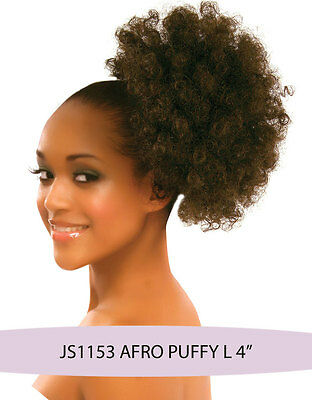 Synthetic Clip on Hair Drawstring Ponytail - AFRO Puffy