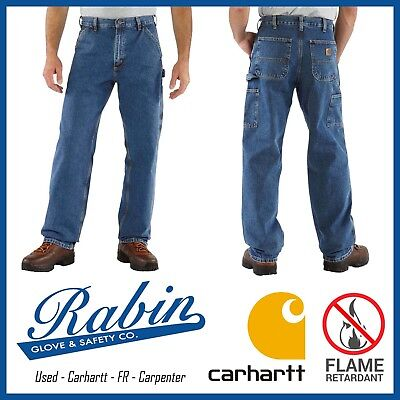 FR Carpenter Work Pants - Great Condition - Flame Retardant - Carhartt ALL SIZES
