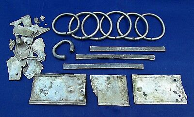 Very Rare Viking Lot  Hack-Silver Currency & Bracelets  circa 800  AD (920-)