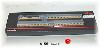 Märklin 81551 Lufthansa Airport Express DB 4-piece #new original packaging#