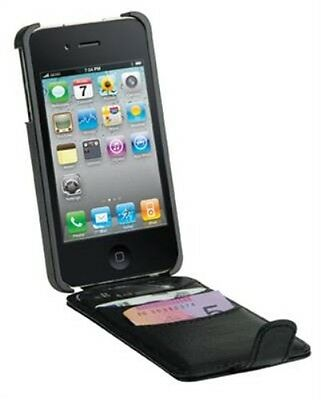 Gecko Gear Flip Wallet - All-In-One Card + Cash Holder for iPhone 4/4s
