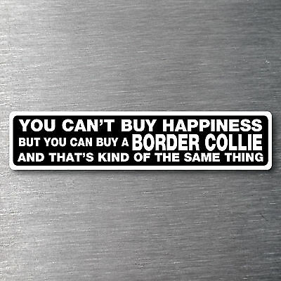 Buy a Border Collie sticker quality 7 year water & fade proof vinyl dog breed