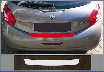 clear protective foil bumper transparent Peugeot 208 (Year built 2012)