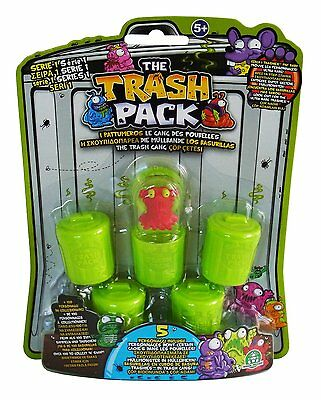 The Trash Pack Series 1 - 'Trashies' 5 Pack Collectible Figures (Random)