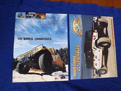 Hummer Stuff Catalog 2002 Clothes Knives Keychains Pins Toys