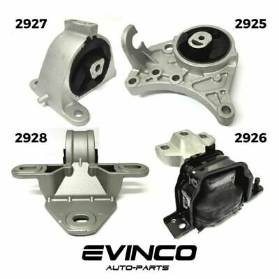 NEW 2001/2007 Chrysler Town & Country 3.3L 3.8L Engine Motor & Trans Mount 4 Set
