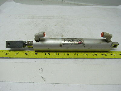 "Aro Ingersoll Rand 2418-1089-060-M  Pneumatic Air Cylinder 3/4"" Stroke 6"" Stroke"