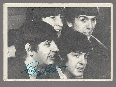 "[59074] 1964 Topps ""the Beatles"" #141 John, Paul, George & Ringo Trading Card"