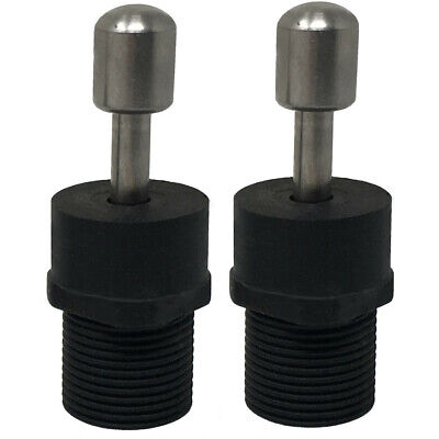 (2)European Tie-in Speargun Band Adapters, Standard 14mm Thread, Free Shipping