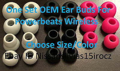OEM Original Powerbeats 3 2 Wireless Replacement Ear Tip Buds -CHOOSE SIZE/COLOR