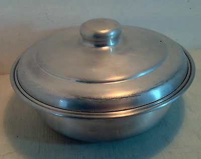 Vintage Aluminium (Steam Pudding?) Bowl & Lid, Duchess (3507)
