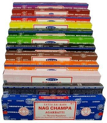 Satya Nag Champa Incense Sticks - Many Scents Available (Offer 4 for 3)