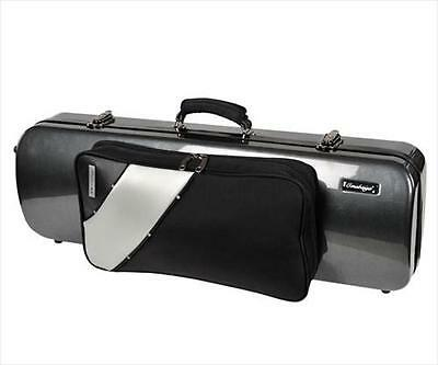 Jakob Winter JWB 2025 NCA, ABS Carbon Design 4/4 Violin Case & Pocket Black