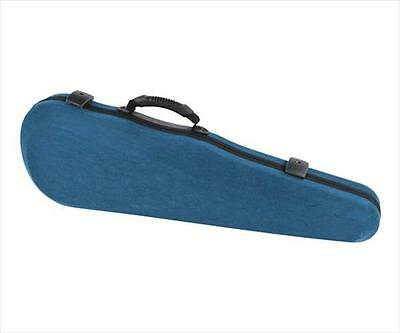 Jakob Winter JW 62017 FBL 4/4 Felt Shaped Violin Case Blue/Black **NEW**