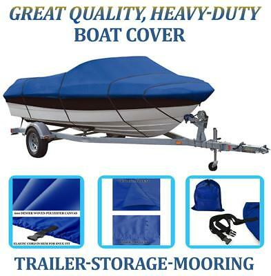 Blue Boat Cover Fits Winner Intrigue 1700 I/O 1989
