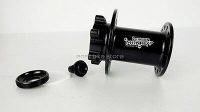 Circus Monkey Disc Lefty  Front Carbon Hub For Cannondale,32 Hole,Black